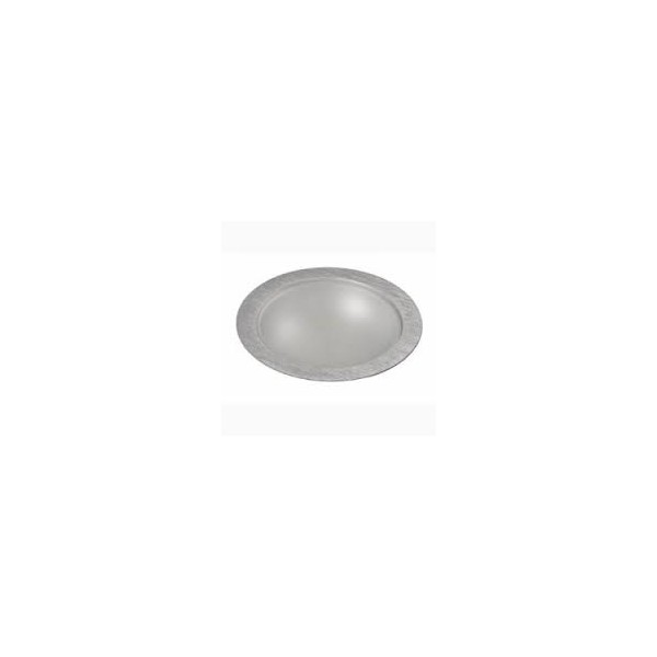 Empotrable led 18 W redondo aluminio