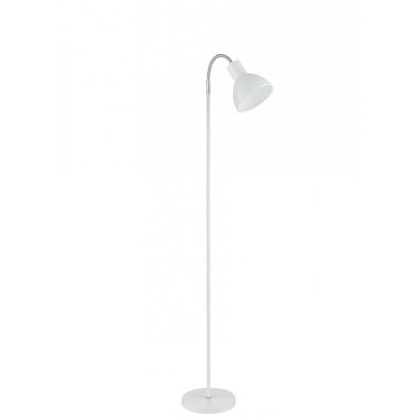 Lámpara de pie lector blanco e27