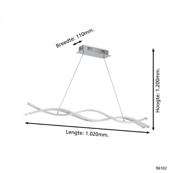 Lampara led 39w 3000k