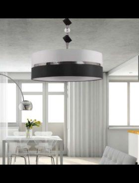Colgante D60 negro/blanco